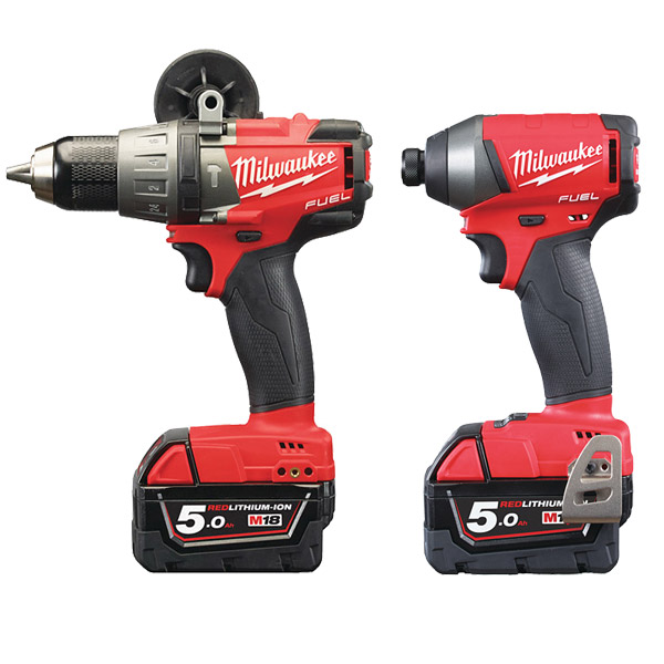 Milwaukee M18 FPP2A-502X M18 FUEL Twin Pack (M18FPD2, M18FID2)