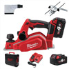 Milwaukee M18BP-402C 18v Cordless Planer Kit with 2 x 4ah Batteries