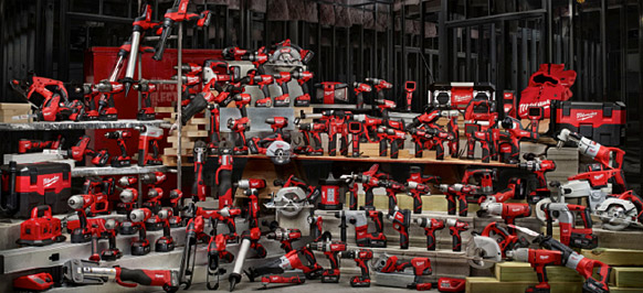 milwaukee power tools logo. milwaukee produce a wide range of rechargeable cordless products in their famous signature red design, from drills, drill/drivers, impact wrenches, saws, power tools logo r