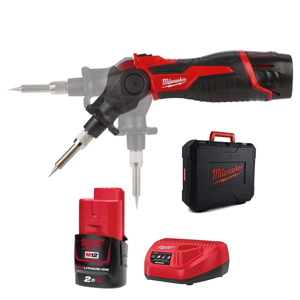 Milwaukee M12SI-201C M12™ Soldering Iron Kit