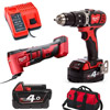 MILWAUKEE M18BPD+ M18BMT TWIN PACK, 2X M18B4