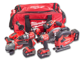 Milwaukee Tools UK: Full Range of Heavy Duty Tool Kits