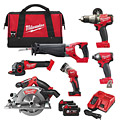 Milwaukee M18FPP6A-502B M18 FUEL 6 Item Powerpack Kit