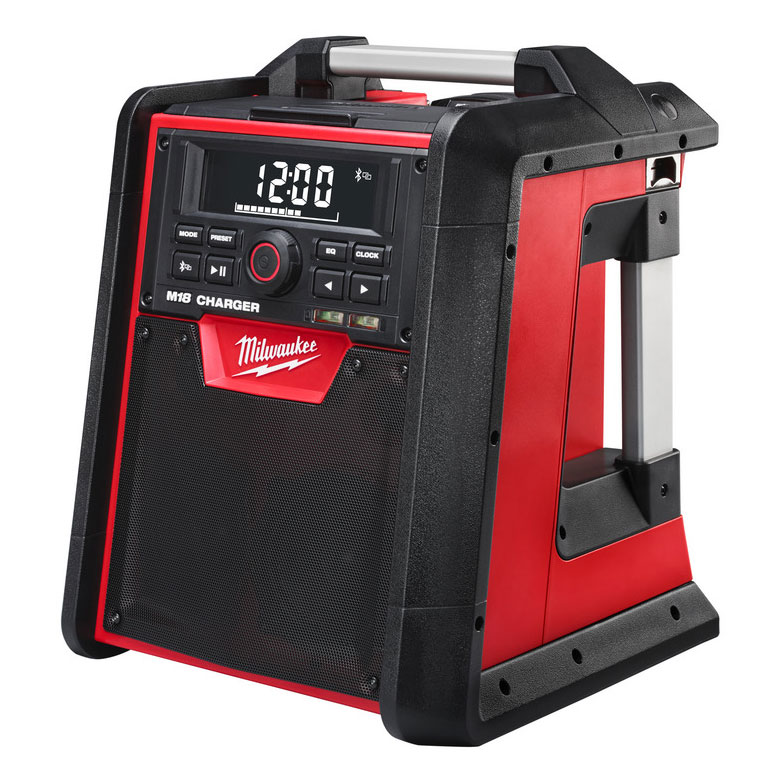 milwaukee m18rc 0 digital jobsite radio charger. Black Bedroom Furniture Sets. Home Design Ideas