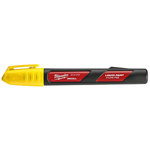 Milwaukee 48223721 INKZALL Liquid Paint Marker Yellow