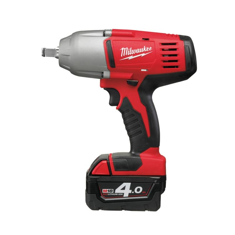 milwaukee hd18hiw 402 m18 1 2 drive heavy duty impact wrench. Black Bedroom Furniture Sets. Home Design Ideas
