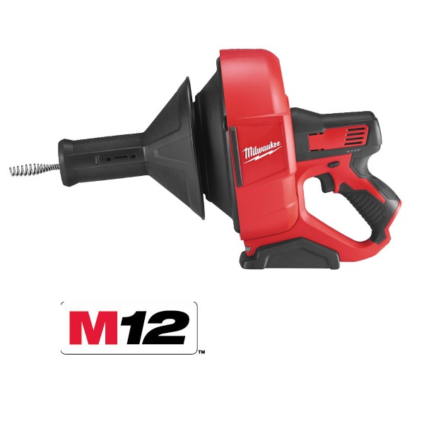 Milwaukee 12v Drain Cleaner M12BDC8-0C (Zero Tool)