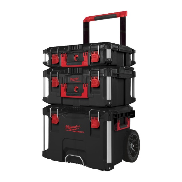Milwaukee 3 Piece Packout System (Including Trolley) 4932464244