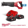 Milwaukee M18ONESX-502X ONEKEY M18 Fuel Sawzall Kit with 2 x 5Ah Batteries