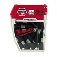 Milwaukee 4932352551 PH 2 Shockwave Impact Driver Bits 25-Piece