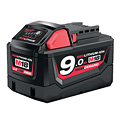 Milwaukee M18B9 9.0Ah Red Lithium-Ion Battery