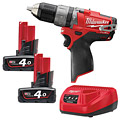Milwaukee M12CPD-402C M12 Fuel Compact Percussion Drill