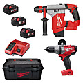 Milwaukee 2 Item Kit M18SET2S-503W (M18CPD, M18CHPX, 3 x 5.0Ah)