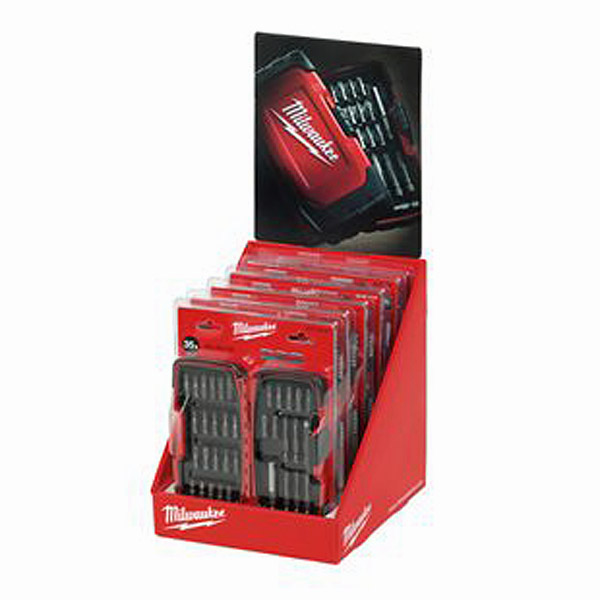 Milwaukee 35 Piece Trade Bit Set 4932352068