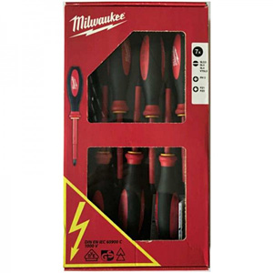 Milwaukee 7 Piece VDE Screwdriver Set