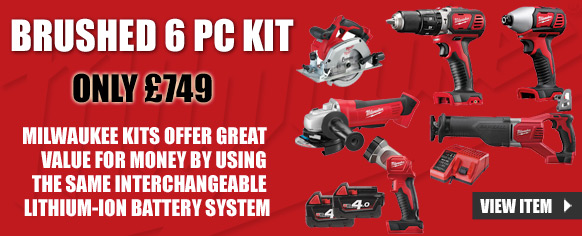 6 Piece Power Tool Kit