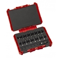 "Milwaukee 4932352862 20 piece Shockwave Impact Duty 1/4"" Socket Set"