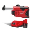 Milwaukee M12DE-201 M12 Universal Drill Mounted Dust Extractor Kit