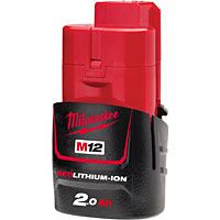 M12™ 12-Volt Batteries | Milwaukee at CBS Power Tools UK