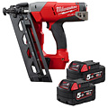 Milwaukee M18 CN16GA-502X 18V Fuel 16 Gauge Angle Nailer Kit