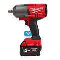 "Milwaukee M18ONEFHIWF12-502X ONE-KEY FUEL 18V Cordless 1/2"" Impact Wrench FR"