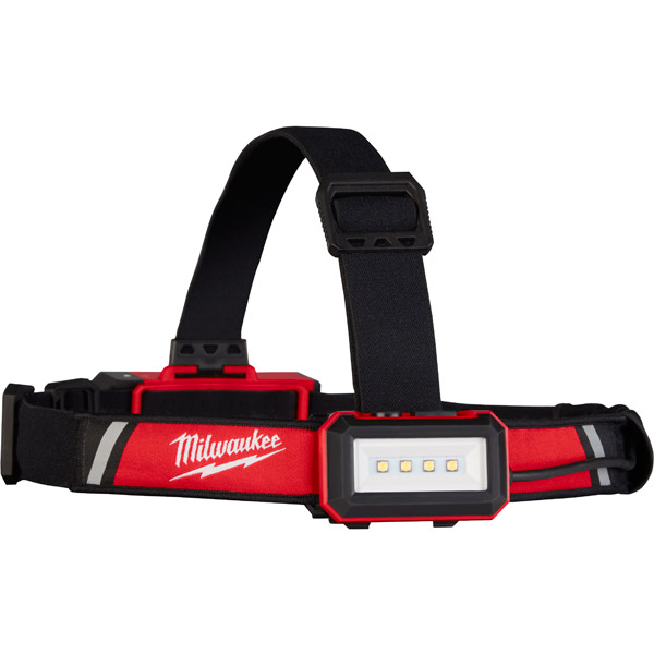 Milwaukee Hard Hat Headlamp L4HLRP-201 REDLITHIUM™ USB