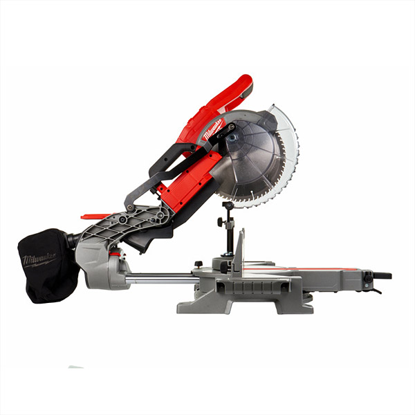 Milwaukee Panel Saw Accessories Wall : Milwaukee m fms v cordless fuel slide mitre saw