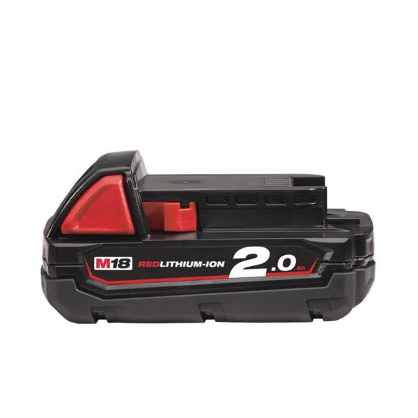 Milwaukee 2.0Ah Battery M18B2 M18 REDLITHIUM™-ION