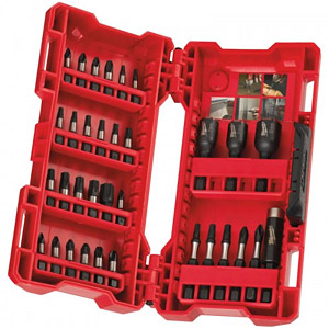 Milwaukee 4932430905 Shockwave Bit & Nut Driver Set 33-Piece