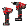 Milwaukee M12FPP2A-602X FUEL 12V Cordless Twin Pack (M12FPD, M12FID, 2 x 6.0Ah)