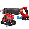 Milwaukee M18ONESX-502X ONEKEY M18 Fuel Sawzall Kit