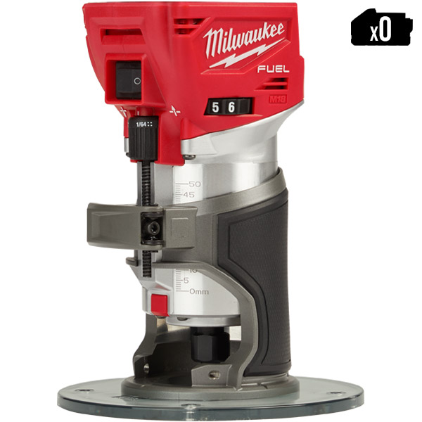 Milwaukee Trim Router M18 FUEL M18FTR-0X Body Only