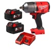 Milwaukee M18FHIWF12-502X Impact Wrench Kit with 2 x 5Ah Batteries