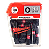 Milwaukee SHOCKWAVE PZ2 25mm Screwdriver Bits 25 Pack 4932430864
