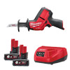 Milwaukee M12 Fuel Hackzall Kit with 2 x 6Ah Batteries M12CHZ-602C