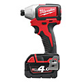 Milwaukee M18BLID-402C Brushless Compact Impact Driver