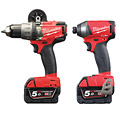 Milwaukee M18 FPP2A-502X M18 FUEL Twin Pack (M18FPD, M18FID)