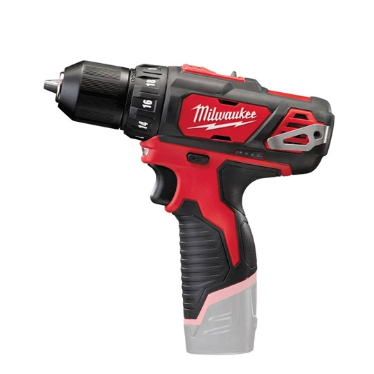 Milwaukee M12BDD-0 12 Volt Drill Driver - Zero Tool (Batteries and Chargers sold separately)