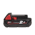 Milwaukee M18B2 2.0Ah Red Lithium-Ion Battery