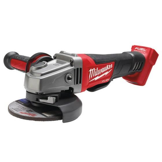 Milwaukee M18CAG115XPD-0 115mm Fuel Angle Grinder (Non Braking version-Zero Tool)
