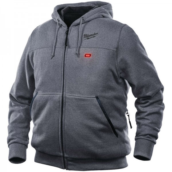 Milwaukee M12HHGREY3-0 12v Heated Hoodie (M)