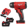 Milwaukee 18v M18BHG-502 Heat Gun Kit with 2 x 5Ah Batteries