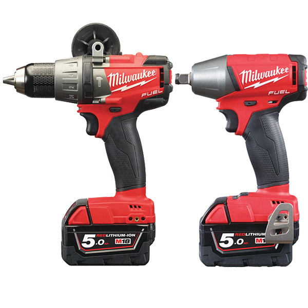 Milwaukee M18 FPP2B-502X M18 FUEL Twin Pack (M18FPD, M18FIWF12)