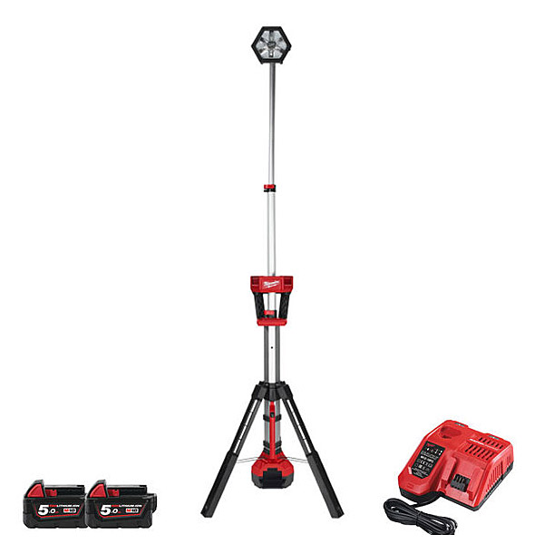 Milwaukee M18SAL-502B M18 LED Site Tower Light