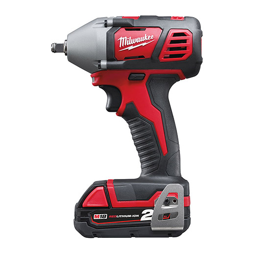 "Milwaukee M18BIW38-202C 3/8"" Compact Impact Wrench"